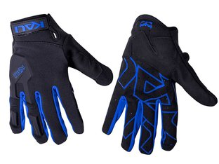 "Kali Protectives ""Venture"" Gloves - Black/Blue"