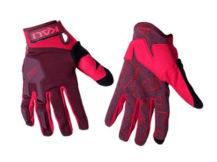 "Kali Protectives ""Venture"" Gloves - Black/Red"