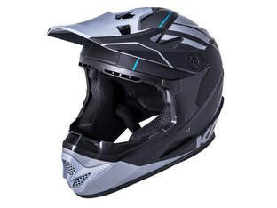"Kali Protectives ""Zoka"" Fullface Helm - Black/Grey"