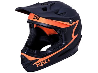 "Kali Protectives ""Zoka"" Fullface Helm - Black/Orange"