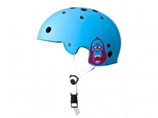 "King Kong ""New Fit"" Helmet - Cyan Blue"