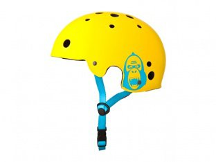 "King Kong ""New Fit"" Helmet - Matt Yellow"