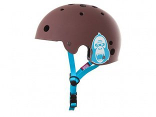 "King Kong ""New Fit"" Helm - Matte Brown"