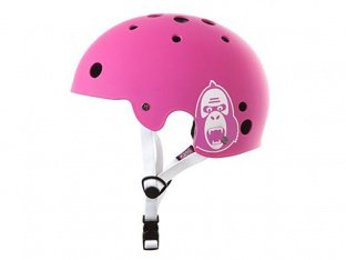 "King Kong ""New Fit"" Helm - Matte Pink"