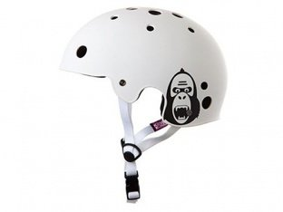 "King Kong ""New Fit"" Helm - Matte White"