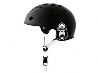 "King Kong ""New Fit"" Helmet - Shiny Black"