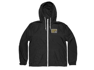 "Kink Bikes ""Breach"" Windbreaker Jacke - Black"