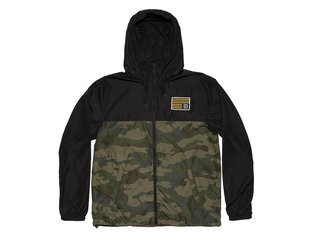 "Kink Bikes ""Breach"" Windbreaker Jacke - Black/Camo"