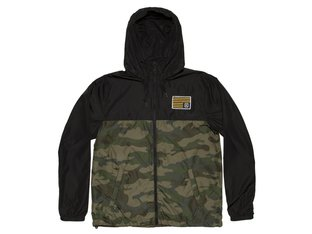 "Kink Bikes ""Breach"" Windbreaker Jacke - Black/Camouflage"