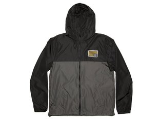 "Kink Bikes ""Breach"" Windbreaker Jacket - Black/Charcoal"