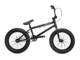 "Kink Bikes ""Carve 16"" 2019 BMX Bike - Gloss Trans Black 