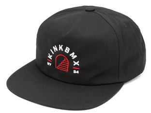 "Kink Bikes ""Flight Snapback"" Kappe - Black"