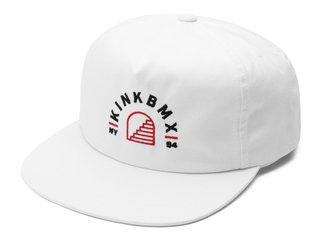 "Kink Bikes ""Flight Snapback"" Cap - White"