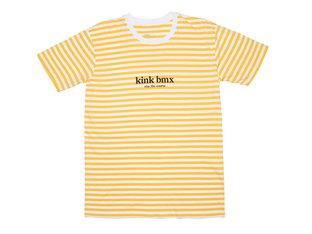 "Kink Bikes ""Founders"" T-Shirt - Yellow/White"