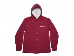 "Kink Bikes ""New Classic"" Windbreaker Jacke - Red"