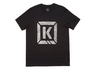 "Kink Bikes ""Newsprint"" T-Shirt - Black"