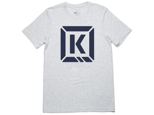 "Kink Bikes ""Represent"" T-Shirt - Heather/Navy"