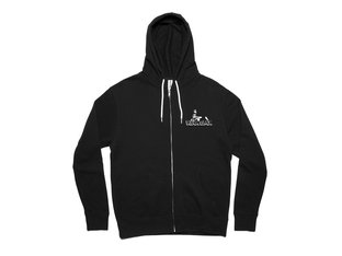 "Kink Bikes ""Sprint"" Hooded Zipper - Black"