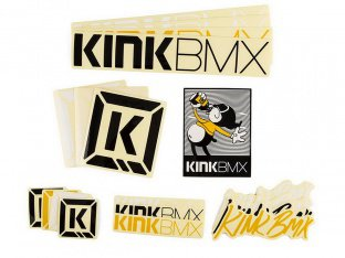 "Kink Bikes ""Assorted"" Stickerset"