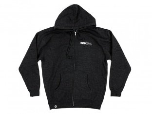 "Kink Bikes ""Titan"" Hooded Zipper - Dark Grey"