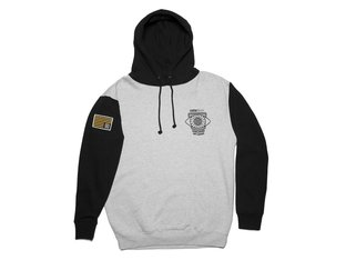 "Kink Bikes ""Worldwide Influence"" Hooded Pullover - Grey/Black"
