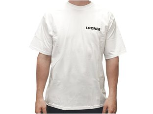 "Looner Brand ""Maple Leaf"" T-Shirt - White"