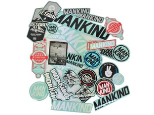 "Mankind Bike Co. ""2021"" Stickerset"