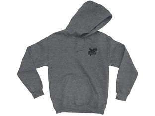 "Mankind Bike Co. ""Company"" Hooded Pullover - Heather Grey"