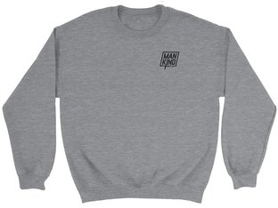 "Mankind Bike Co. ""Company"" Sweater Pullover - Heather Grey"