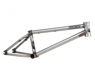 "Mankind Bike Co. ""Getaway 2.0"" BMX Frame - Matte Raw"