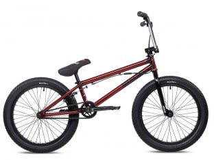 "Mankind Bike Co. ""International 20"" 2021 BMX Rad - Gloss Trans Red"