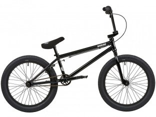 "Mankind Bike Co. ""NXS XL 20"" 2019 BMX Bike - Gloss Black"