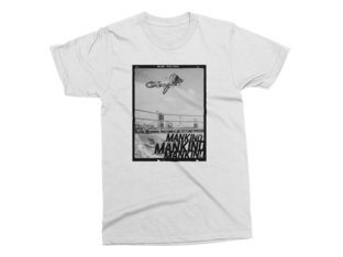 "Mankind Bike Co. ""Photo"" T-Shirt - White"