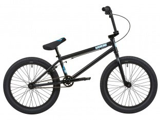 "Mankind Bike Co. ""Planet 20"" 2019 BMX Bike - Matte Black"