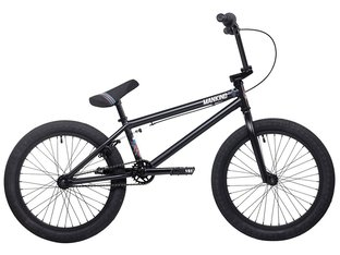 "Mankind Bike Co. ""Planet 20"" 2020 BMX Bike - Semi Matte Black"