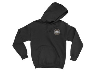 "Mankind Bike Co. ""Resist"" Hooded Pullover - Black"