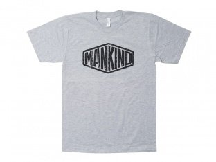 "Mankind Bike Co. ""Sign"" T-Shirt - Heather Grey"