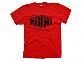 "Mankind Bike Co. ""Sign"" T-Shirt - Red"