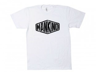 "Mankind Bike Co. ""Sign"" T-Shirt - White"