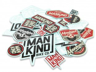 Mankind Bike Co. Stickerset - 2017 MK Logo