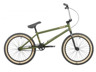 "Mankind Bike Co. ""Sunchaser 20"" 2021 BMX Rad - Semi Matte Army Green"