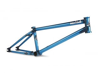 "Mankind Bike Co. ""Sunchaser"" BMX Frame - Matte Trans Blue"