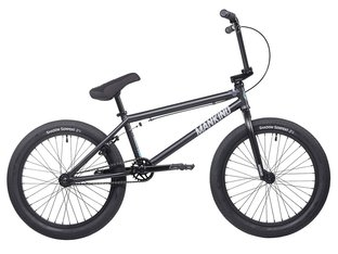 "Mankind Bike Co. ""Sureshot 20"" 2020 BMX Bike - Semi Matte Black"