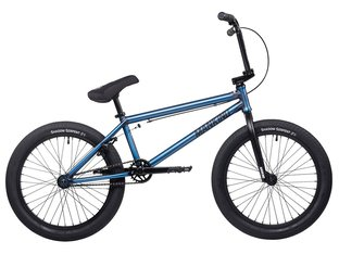 "Mankind Bike Co. ""Sureshot XL 20"" 2020 BMX Bike - Semi Matte Trans Blue"