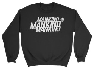 "Mankind Bike Co. ""Triple"" Sweater Pullover  - Black"