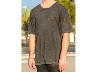 "Markit ""Black On Black"" T-Shirt - Mineral Wash"