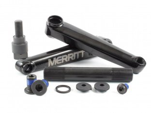"Merritt BMX ""Battle"" BMX Crank - Black"