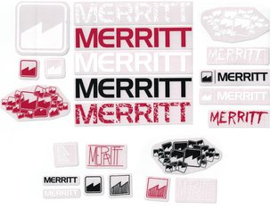 Merritt BMX Stickerset