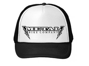 "Metal Bikes ""Lightning Bolt Trucker"" Cap - Black"