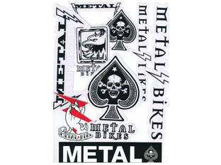 Metal Bikes Stickerset